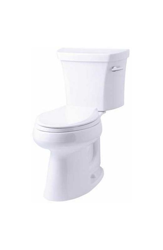Kohler K 3889 Ra 0 White 1 28 Gpf Two Piece Comfort Height
