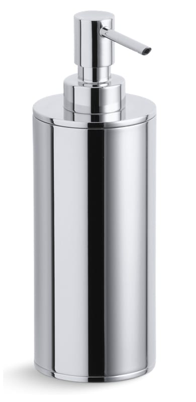 K 14379 cp in polished chrome by kohler for Polished chrome bathroom countertop accessories
