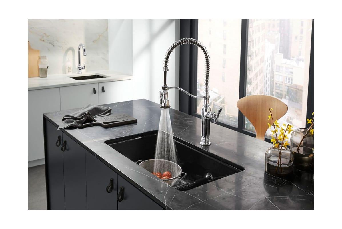 Kohler Pre Rinse Kitchen Faucet