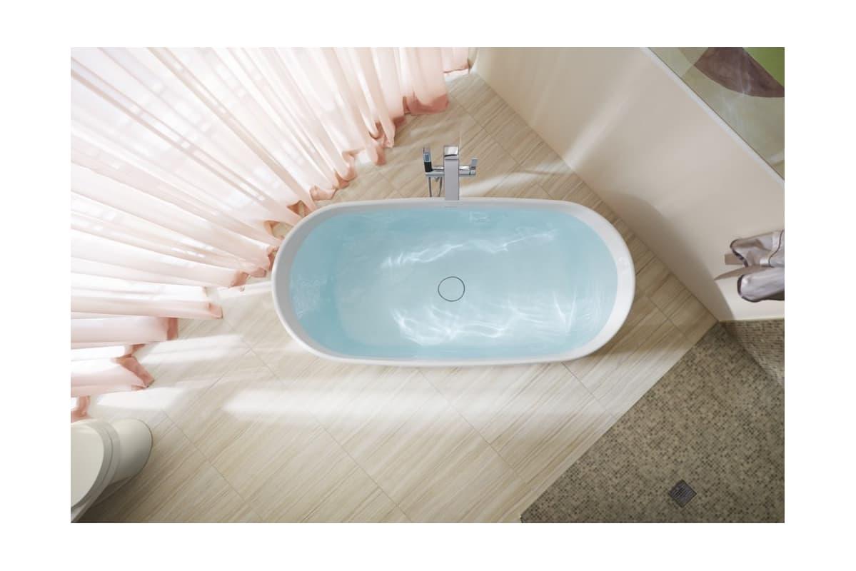 7 Faucet Finishes For Fabulous Bathrooms: K-8336-0 In White By Kohler