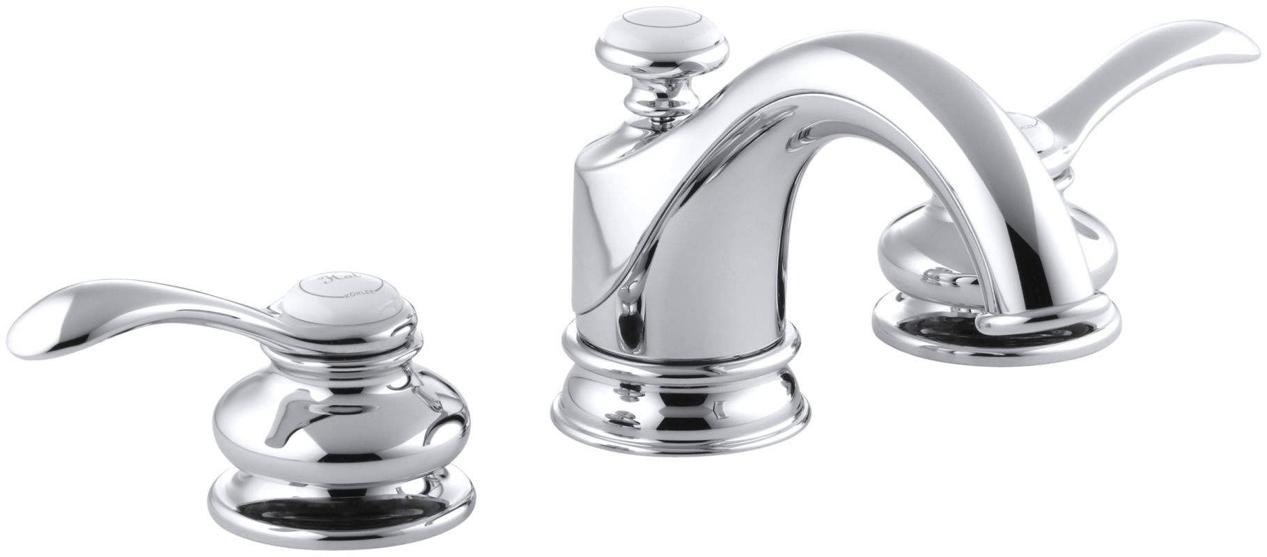 faucet k 12265 4 cp in polished chrome by kohler 19019
