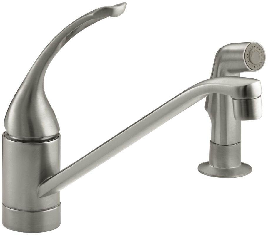 K 15176 fl bn in brushed nickel by kohler for Kohler coralais bathroom faucet