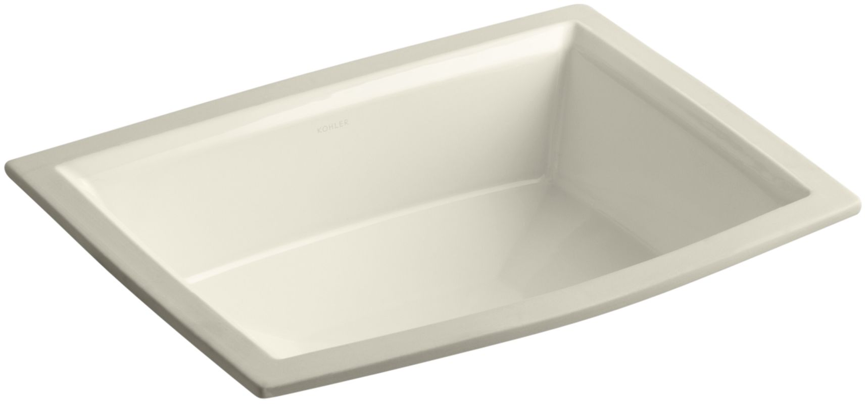 Kohler K 2355 47 Almond Archer 17 5 8 Quot Undermount Bathroom