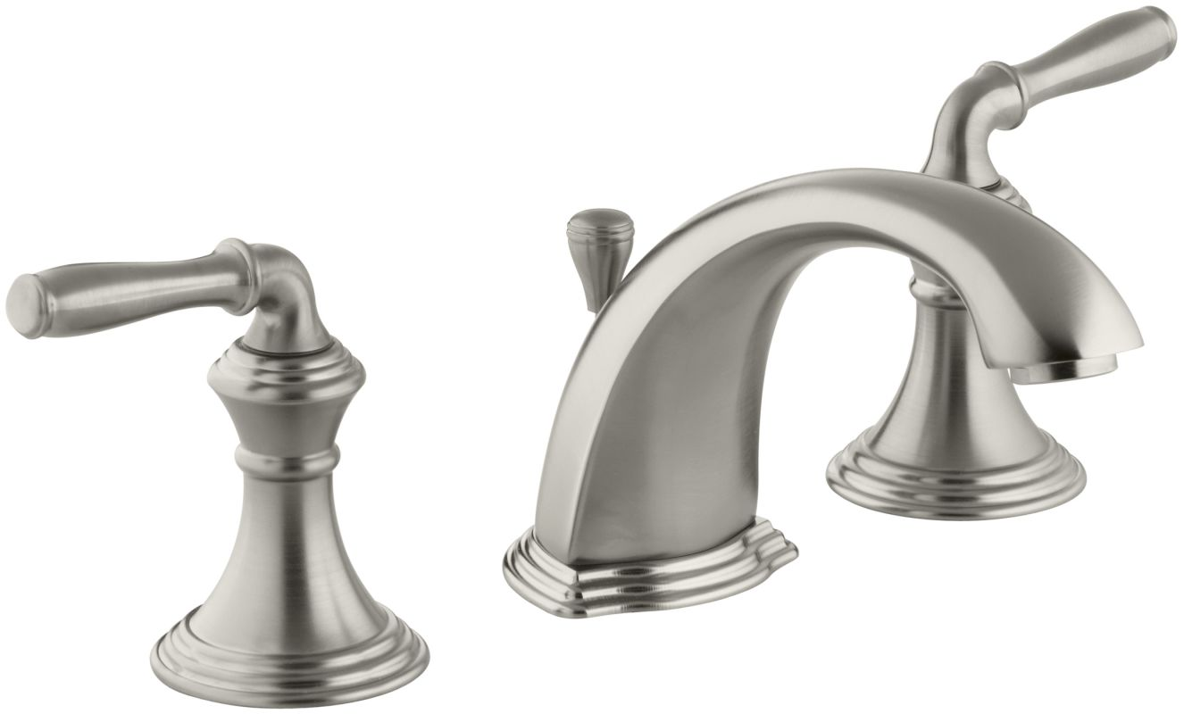 Kohler K-394-4-BN Brushed Nickel Devonshire Widespread Bathroom Faucet ...