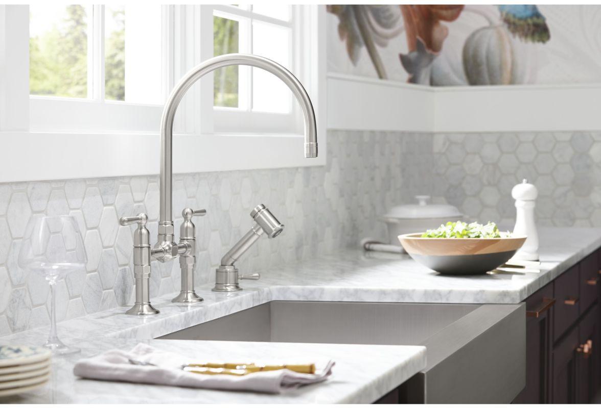 Kohler whitehaven apron sink -  Kohler K 3943 Alternate Image 6