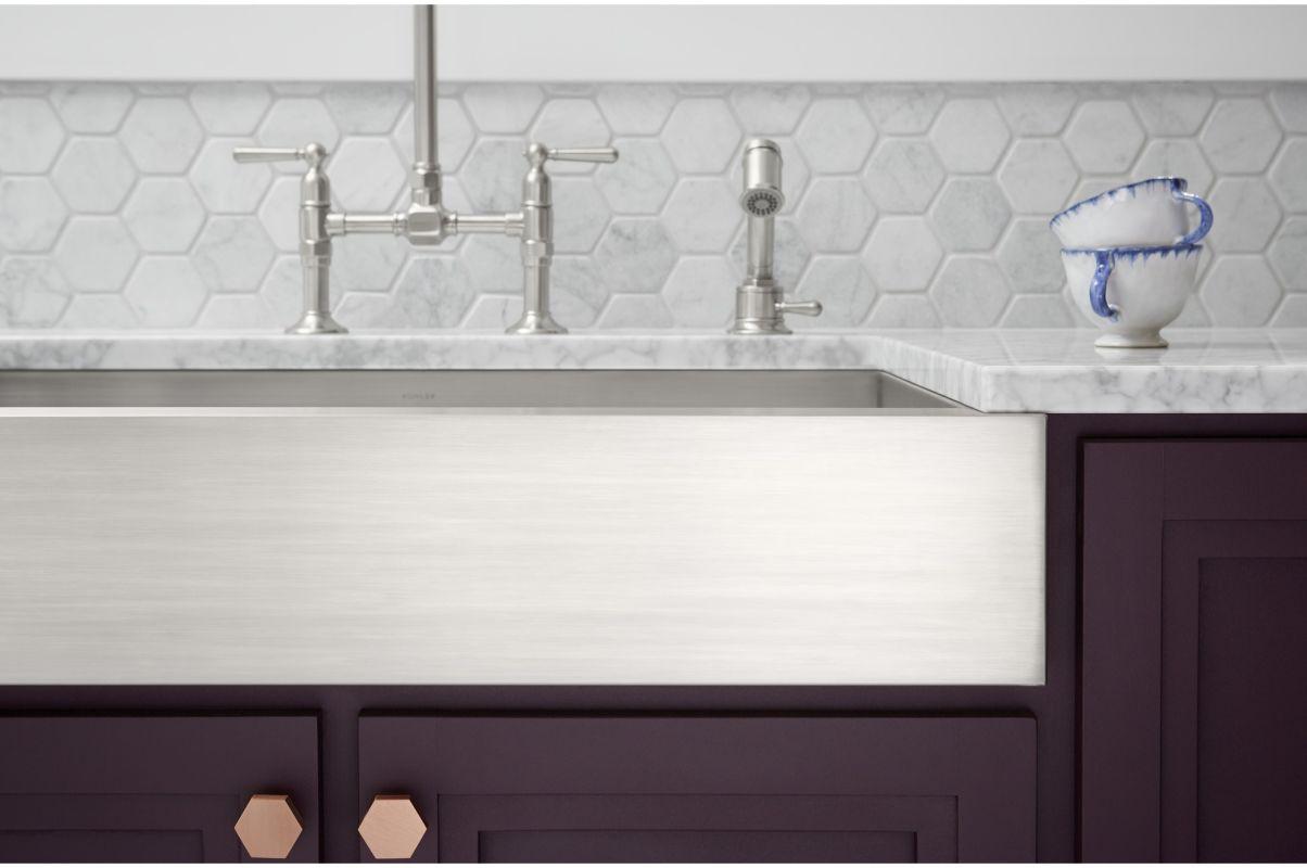 Kohler Stainless Steel Kitchen Sinks faucet | k-3943-na in stainless steelkohler
