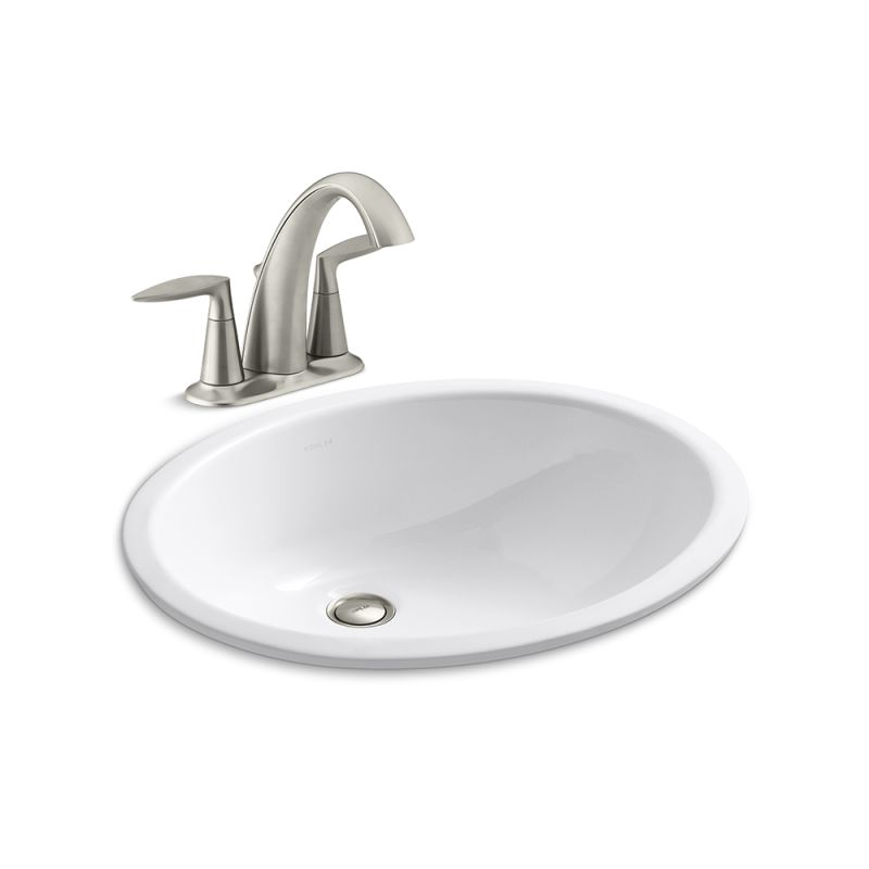 Faucet.com | K-45100-4/K-2210-BN in Vibrant Brushed Nickel ...
