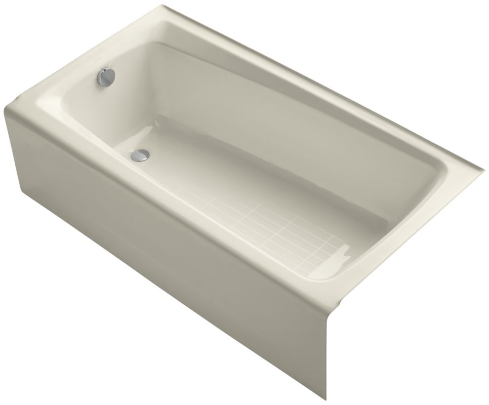 Kohler K 505 47 Almond Mendota Collection 60 Quot Cast Iron