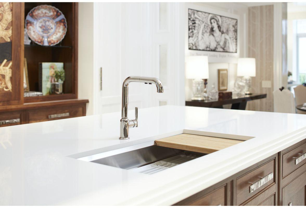 Faucet Com K 5540 Na In Stainless Steel By Kohler
