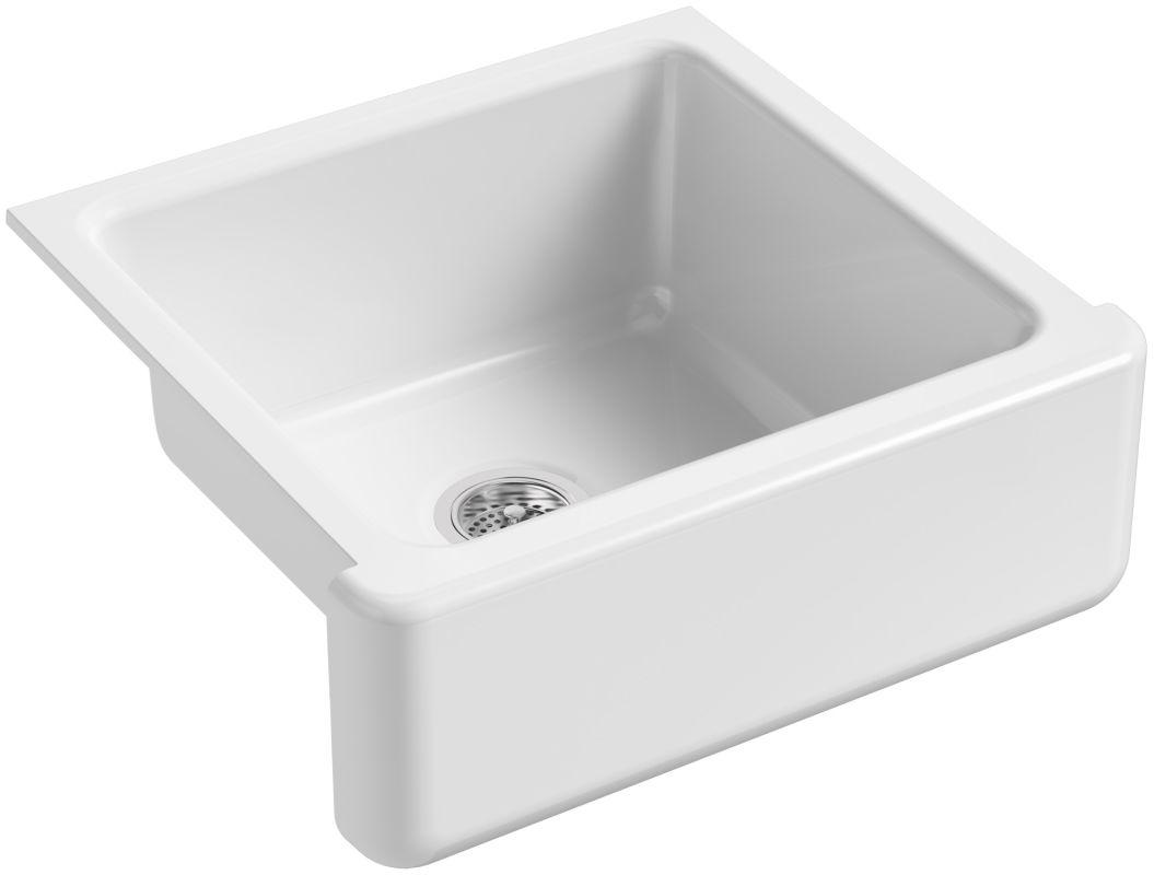 Kohler K 5665 0 White Whitehaven 23 1 2 Quot Single Basin