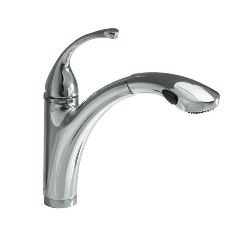 Kohler Kitchen Faucet Parts Awesome Forte Pull Out Kitchen: K-5814-4/K-10433-BV In Brushed Bronze Faucet