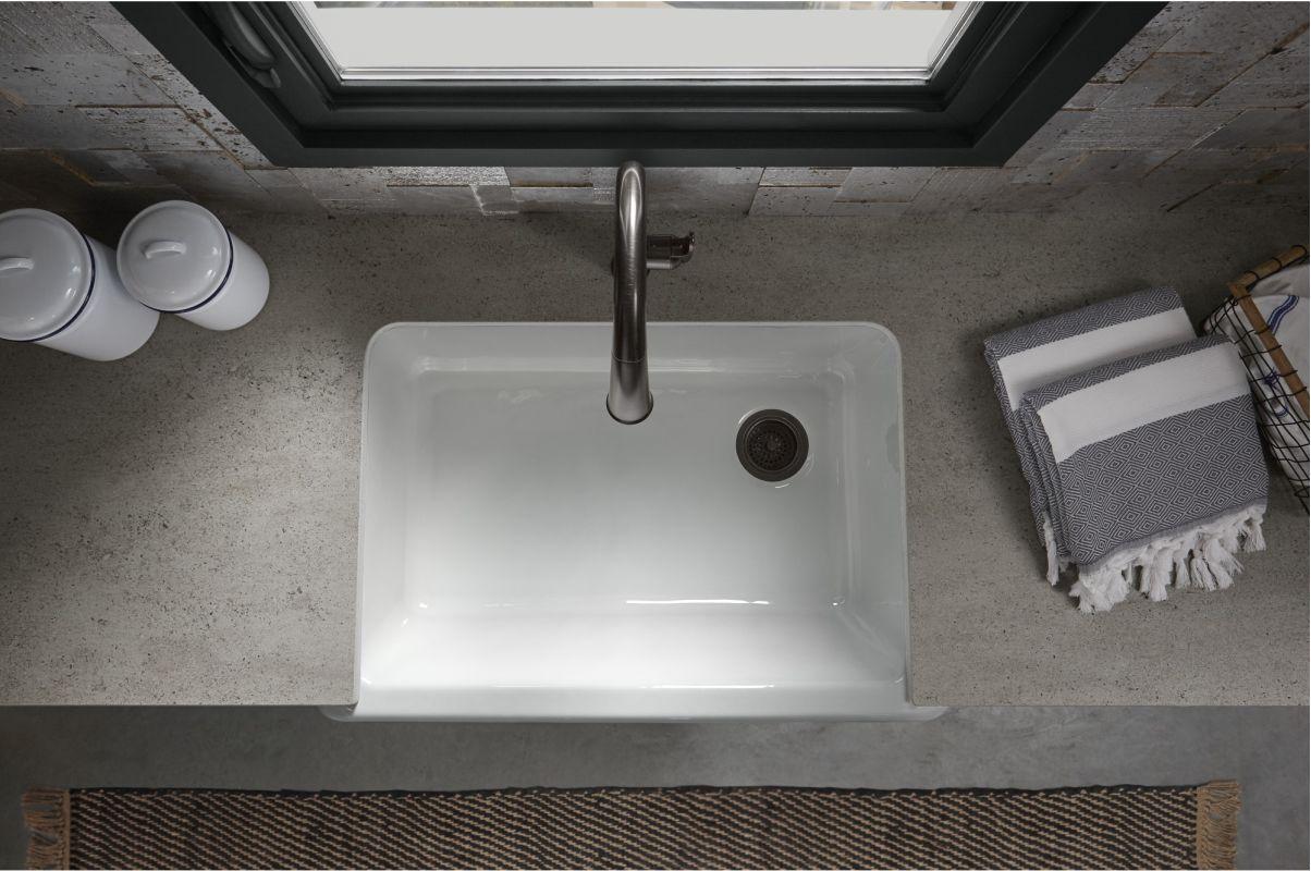 Kohler whitehaven apron sink -  Kohler K 5827 Alternate Image 2