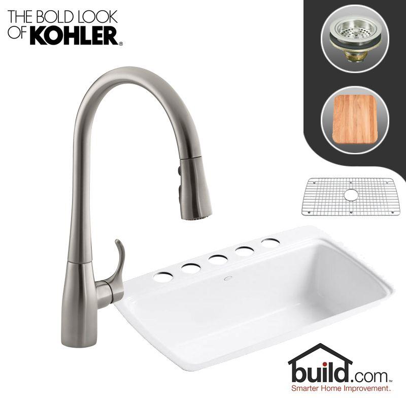 K 5864 5u K 596 Vs In Vibrant Stainless Faucet By Kohler
