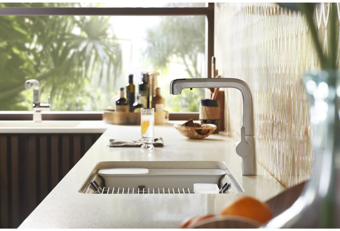 Faucetcom KCP In Polished Chrome By Kohler - Kitchen faucets kohler