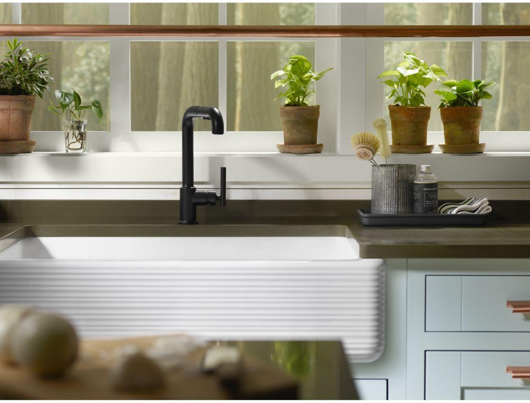 Kohler whitehaven apron sink -  Kohler K 6351 Alternate Image 4