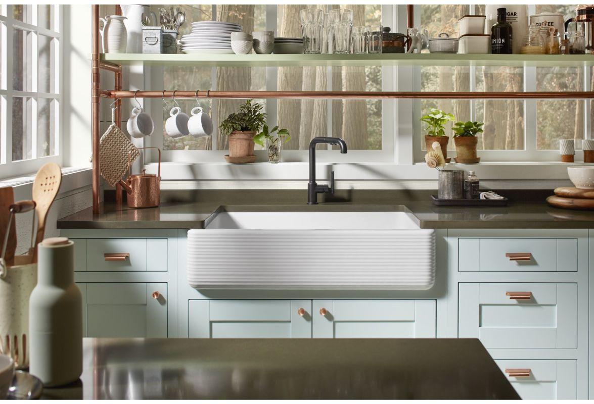 Kohler whitehaven apron sink -  Kohler K 6351 Alternate Image 7