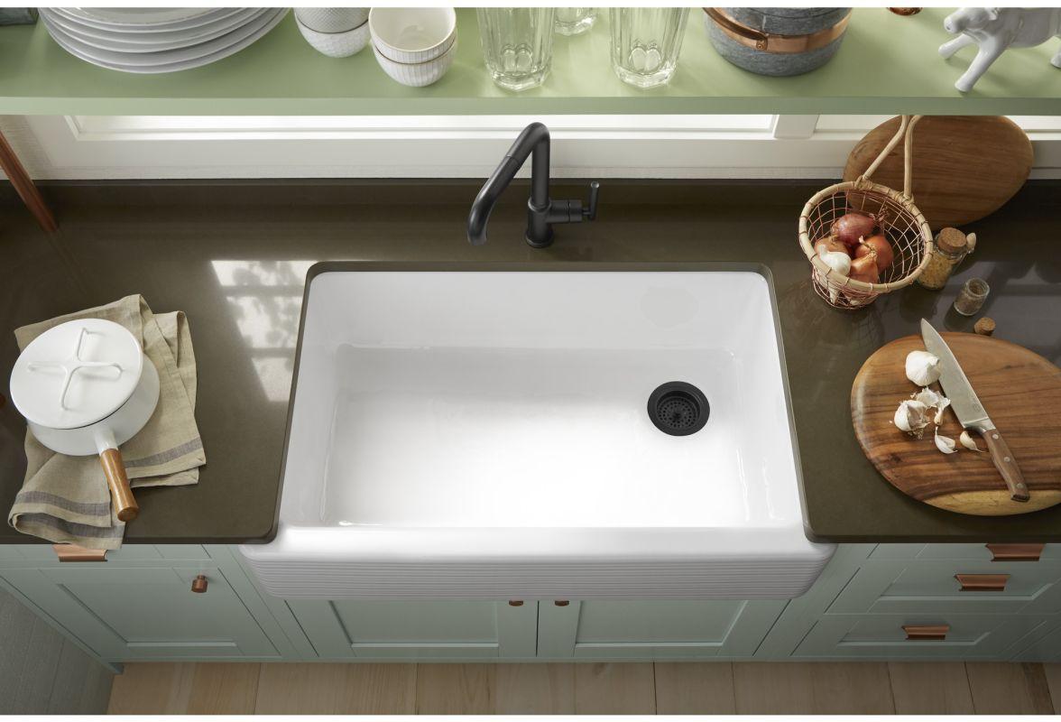 Kohler whitehaven apron sink -  Kohler K 6351 Alternate Image 8