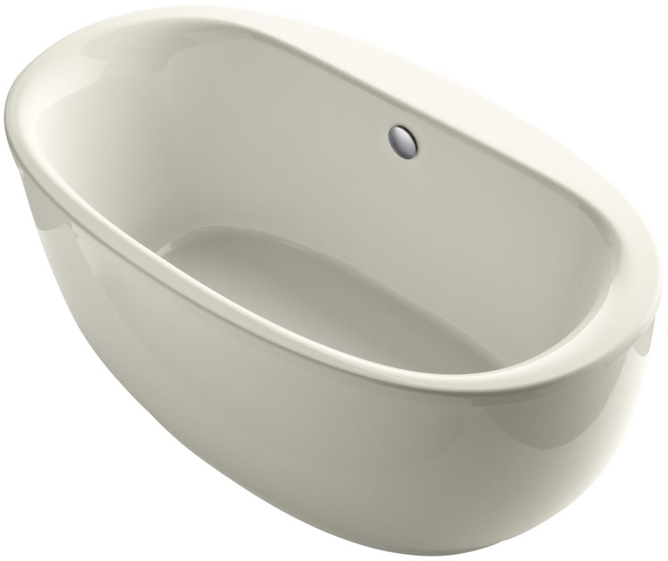 Kohler K 6369 96 Biscuit Sunstruck 66 Quot Free Standing Bath