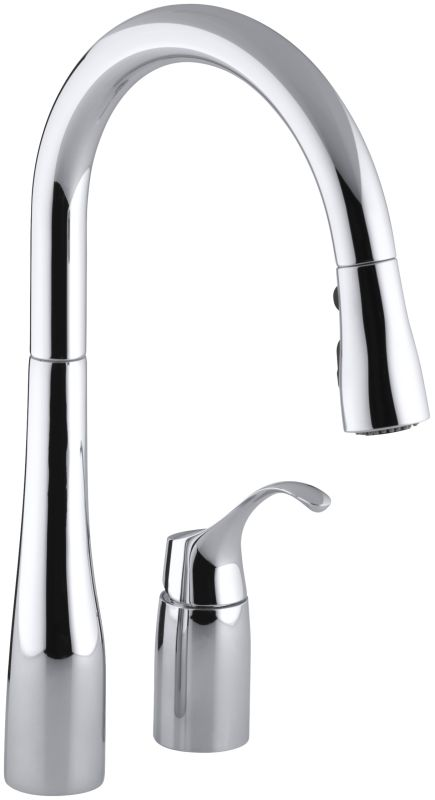 Kohler K 647 Cp Polished Chrome Simplice Two Hole Kitchen