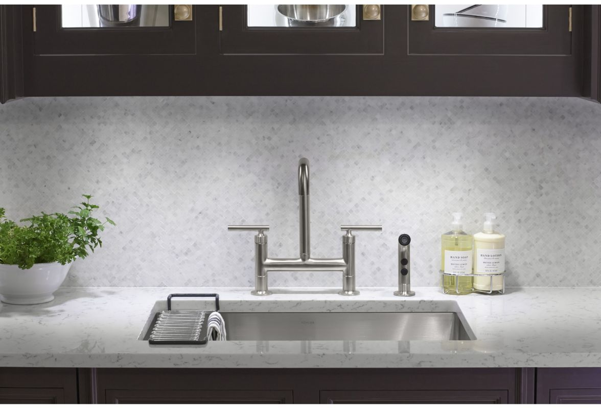 faucet com k 7548 4 bl in matte black by kohler