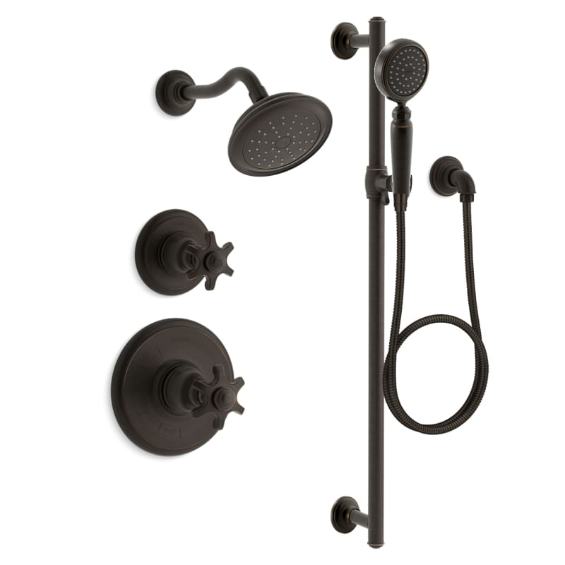 Faucet Com K Artifacts Rt11 3 2bz In Oil Rubbed Bronze