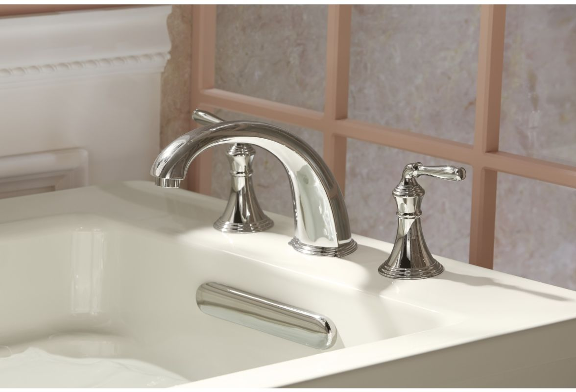 Faucet Com K T398 4 Bv In Brushed Bronze By Kohler