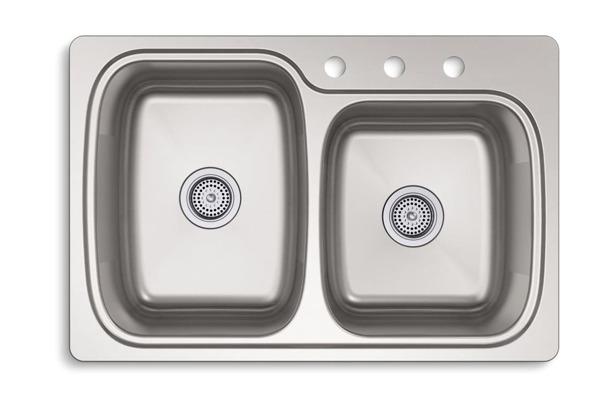 Faucet Com K 75791 3 Na In Stainless Steel By Kohler