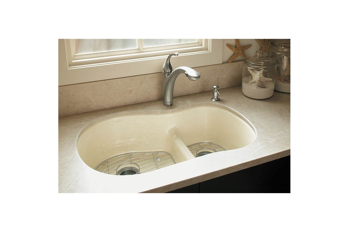 one hole kitchen sink faucet k 10433 bn in brushed nickel by kohler 3684