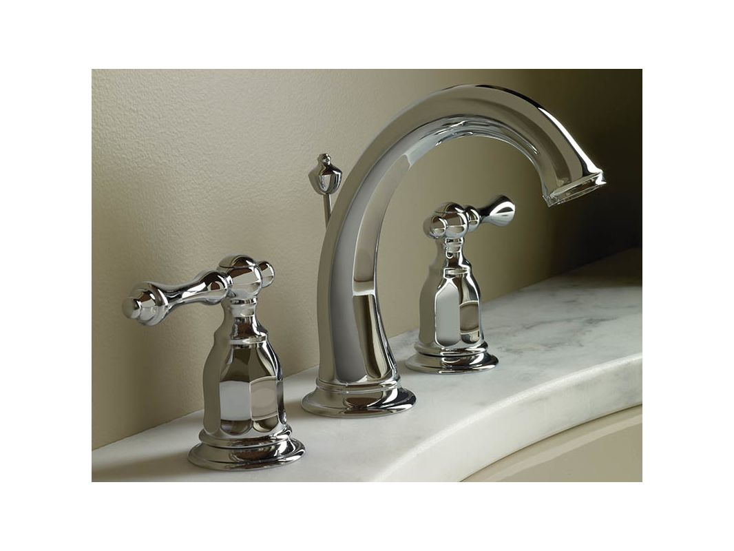 Widespread Bathroom Faucet Clearance : Faucet.com K-13491-4-2BZ in Oil Rubbed Bronze (2BZ) by Kohler