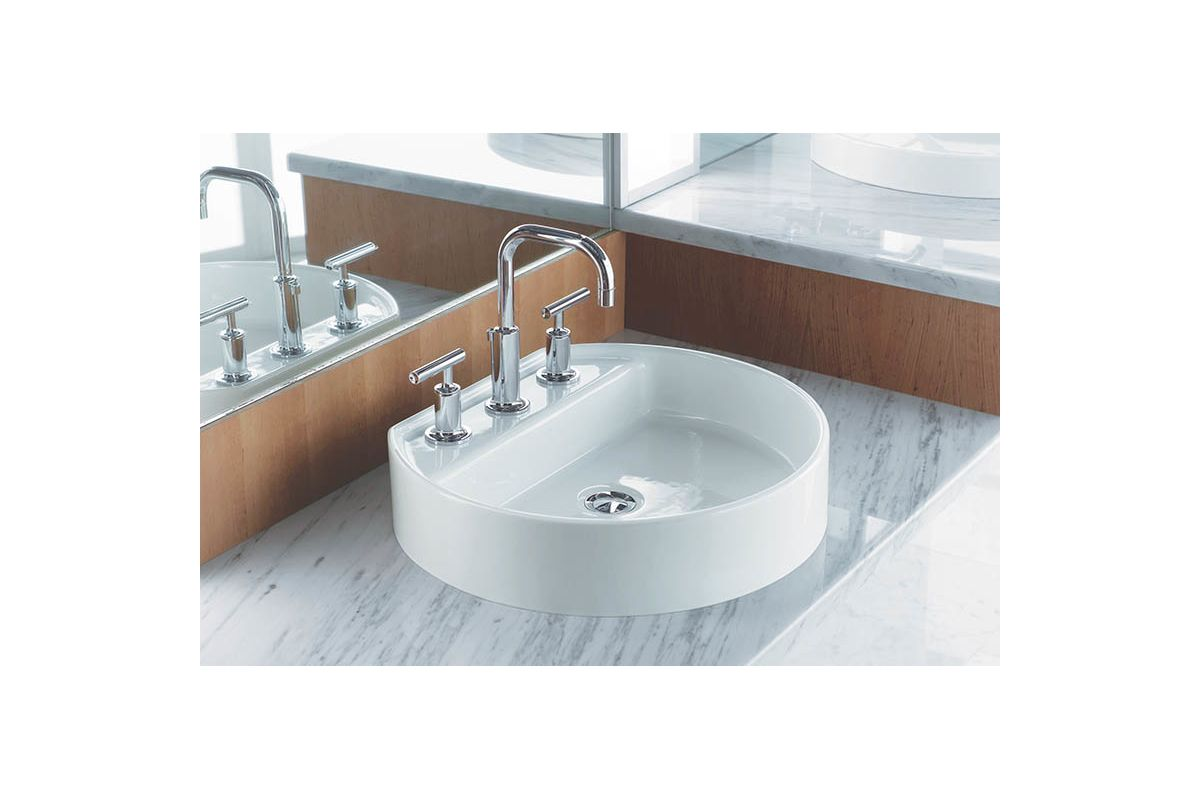faucet k 2331 8 47 in almond by kohler 19026