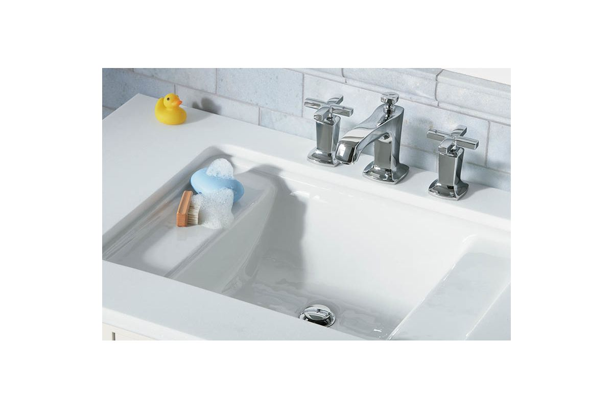 Bathroom Undermount Sink And Faucet faucet | k-2838-47 in almondkohler