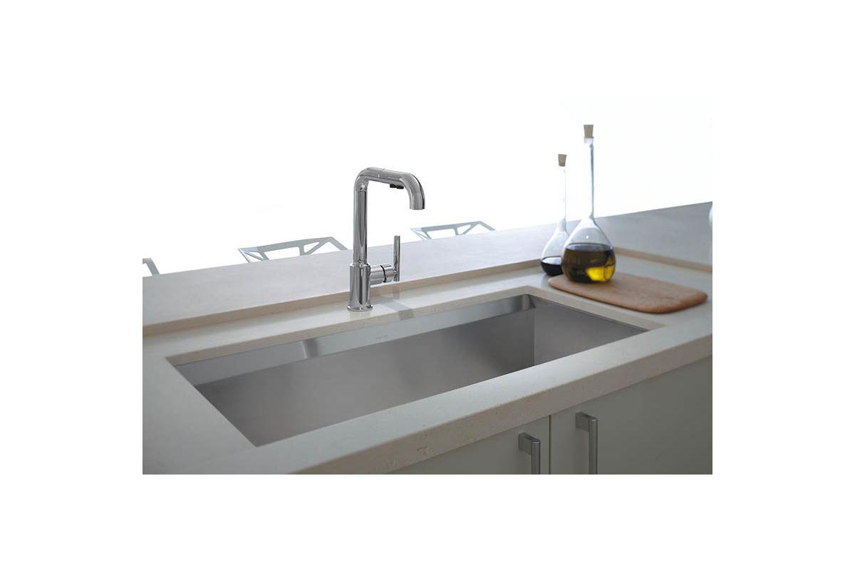Kohler Stainless Steel Kitchen Sinks faucet | k-3673-na in stainless steelkohler