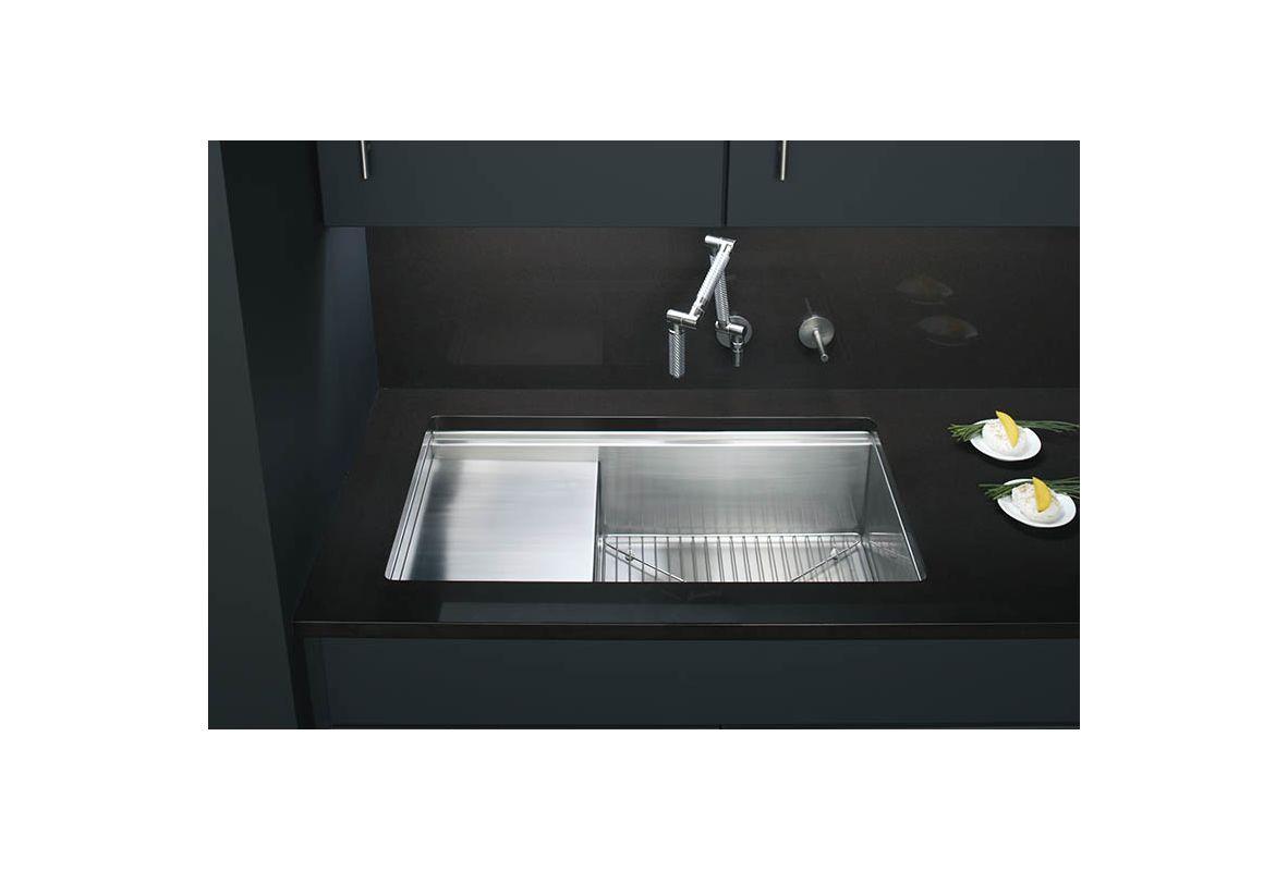 Kohler Stainless Steel Kitchen Sinks faucet | k-3760-na in stainless steelkohler