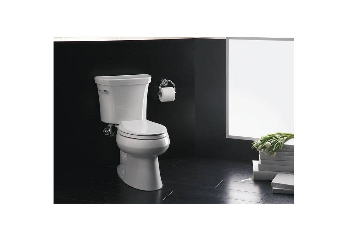 7 Faucet Finishes For Fabulous Bathrooms: K-3998-0 In White By Kohler