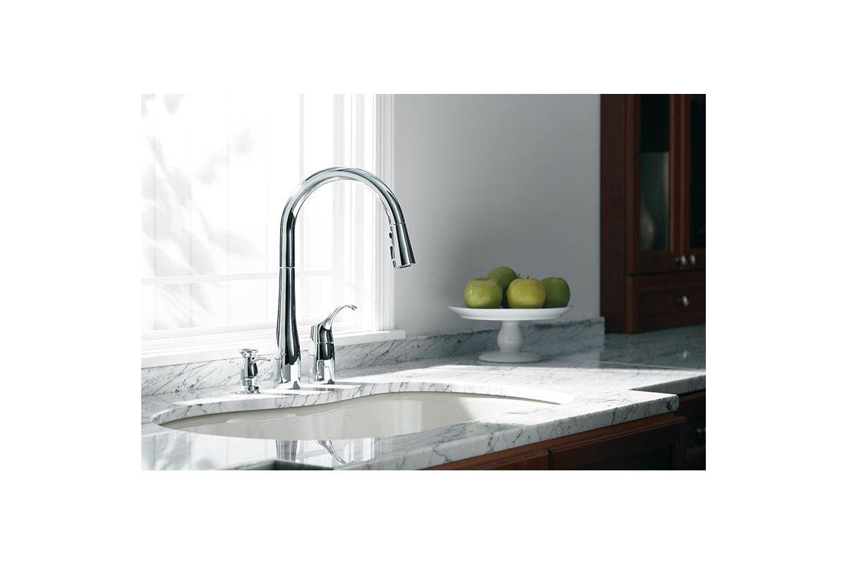 Kohler Kitchen Faucets Simplice faucet | k-647-bl in matte blackkohler