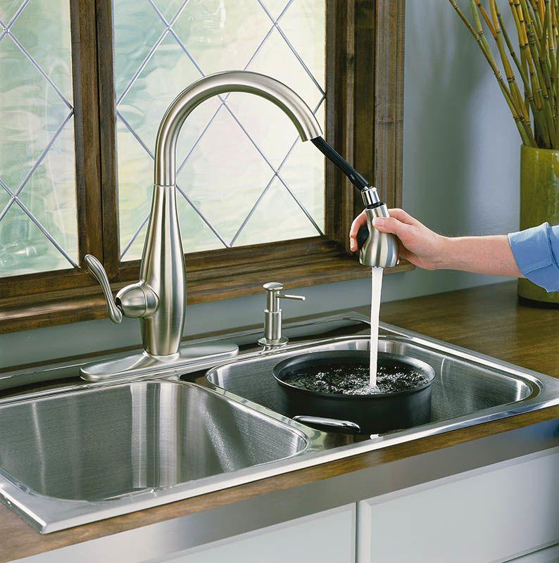 Kohler Kitchen Faucets Brushed Nickel faucet | k-692-bn in brushed nickelkohler