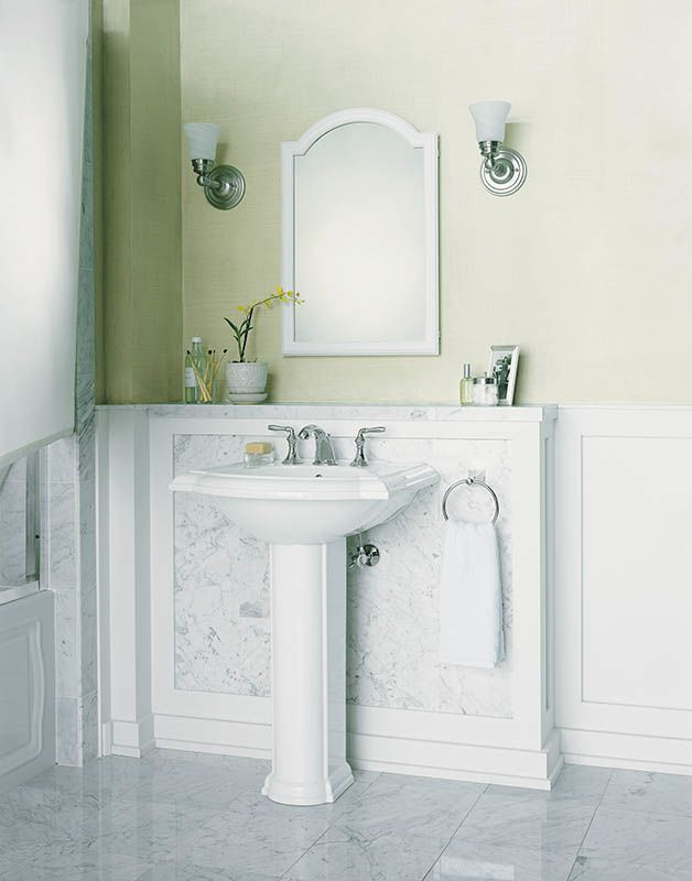 Alternate. Faucet com   K CB CLW2030DAW in White by Kohler