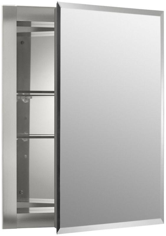Faucet.com | K-CB-CLR1620FS in Silver Aluminum by Kohler