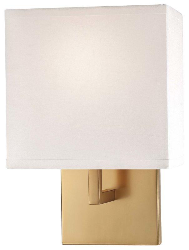 Wall Sconce Mounting Height Ada : Kovacs P470-248 Honey Gold 1 Light 11.25
