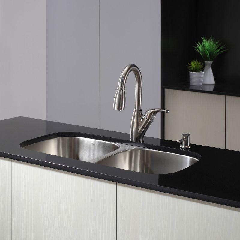 Faucet.com | KBU22 in Stainless Steel by Kraus