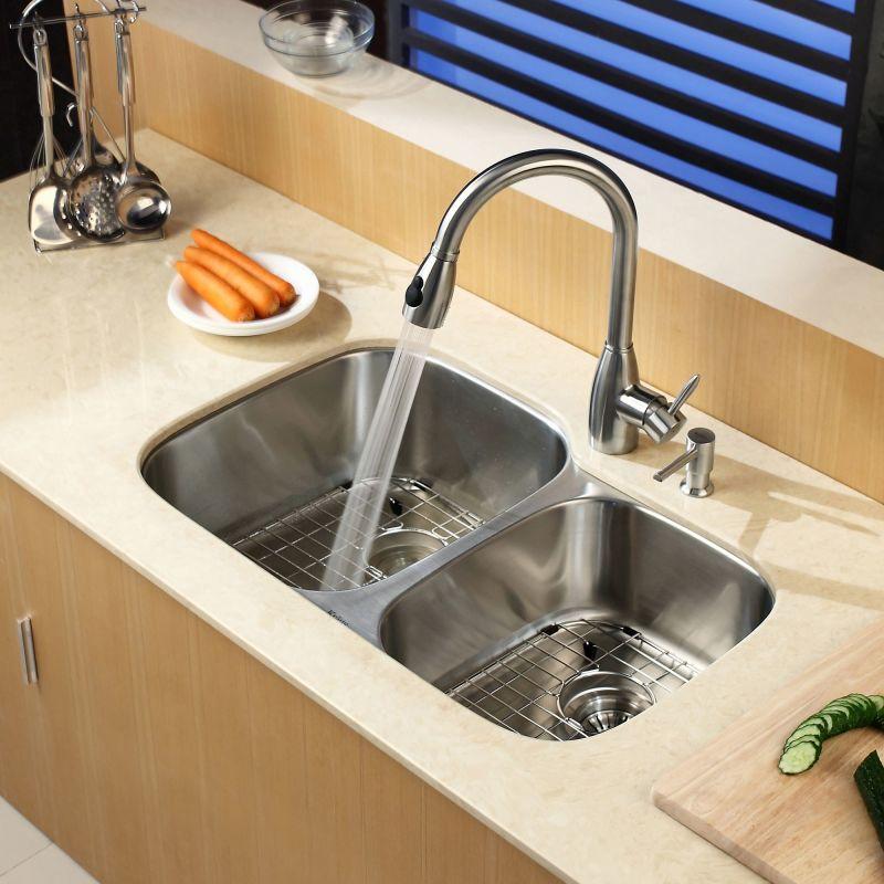 Faucet.com | KBU24 in Stainless Steel by Kraus