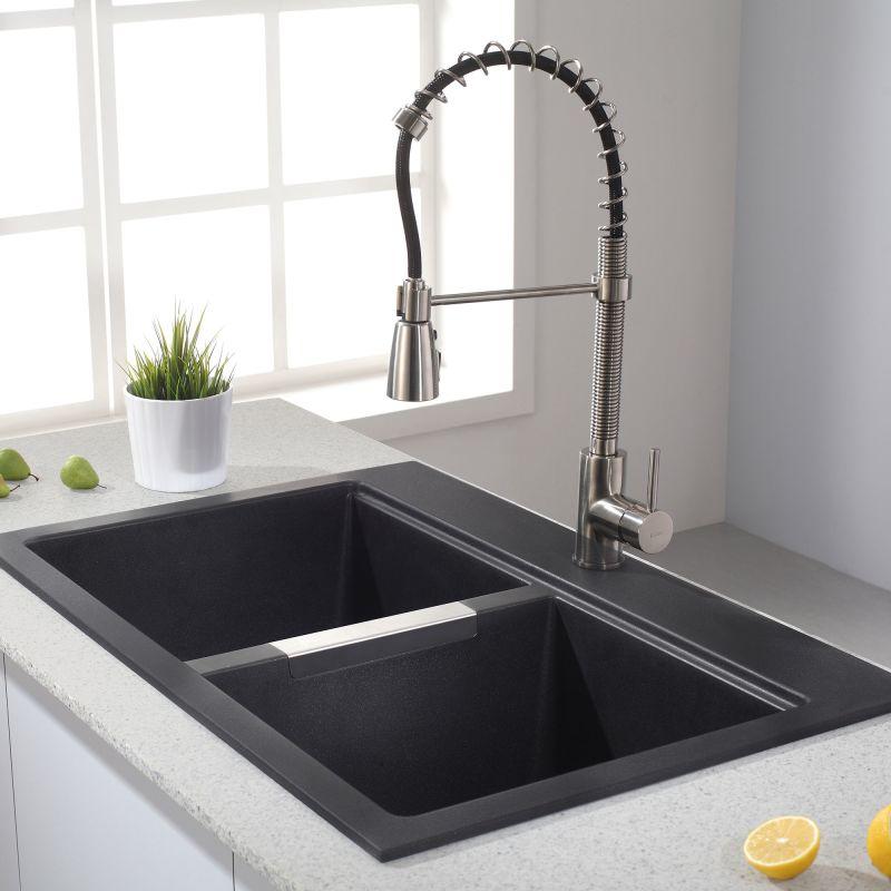 Faucet Com Kgd 433b In Black Onyx By Kraus