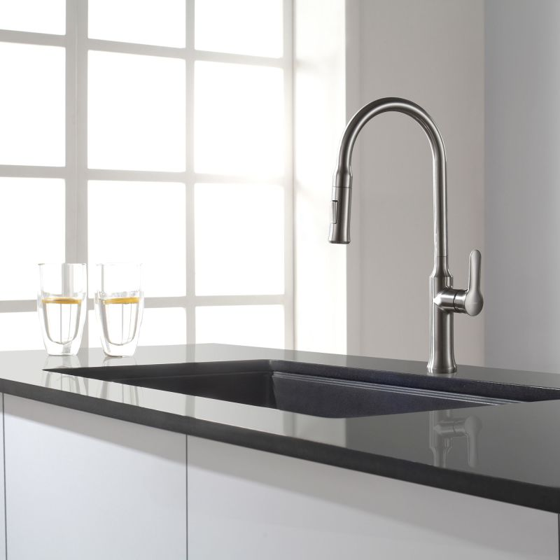 Black Kitchen Sink For Sale: KGU-413B In Black Onyx By Kraus