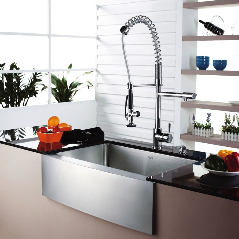 Faucet.com | KHF200-30 in Stainless Steel by Kraus