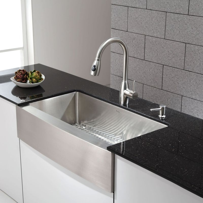 Faucet.com | KHF200-36 in Stainless Steel by Kraus