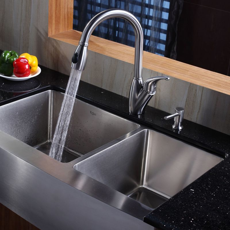 Faucet.com | KHF203-36 in Stainless Steel by Kraus
