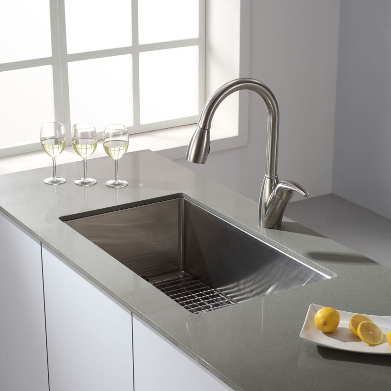 Faucet.com | KHU100-30 in Stainless Steel by Kraus