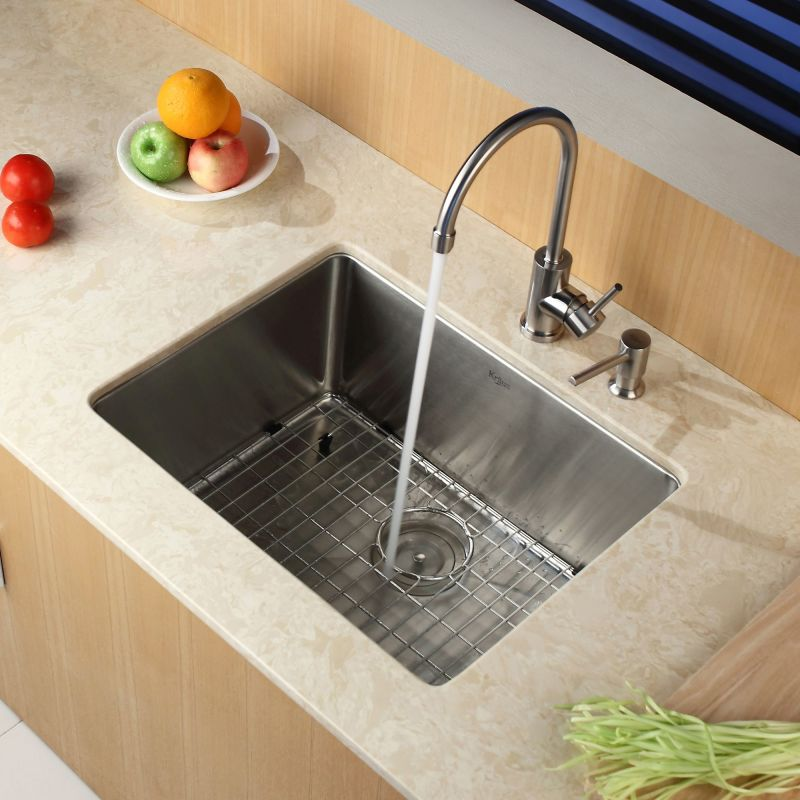 Faucet.com | KHU101-23 in Stainless Steel by Kraus