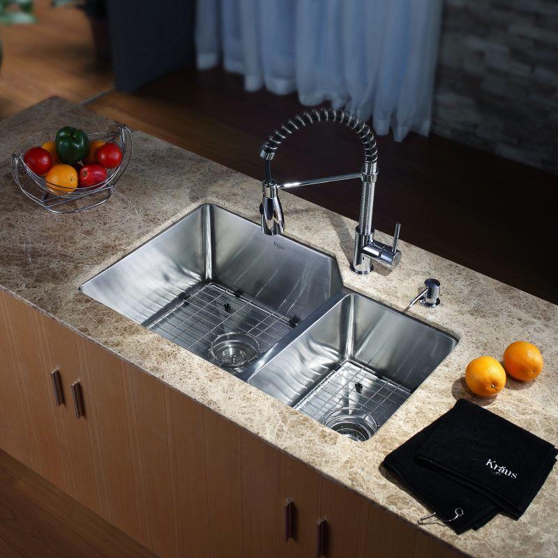 Kraus Kpf  Chrome Commercial Style Pre Rinse Kitchen Faucet