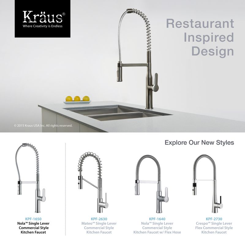 Faucet.com | KPF-1650SS in Stainless Steel by Kraus